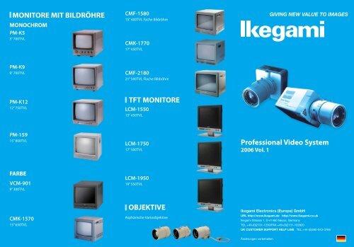 CCTV Product Catalogue - Kommunalinnovationen.de