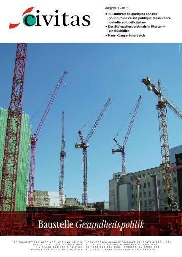 Baustelle Gesundheitspolitik - Schw. StV