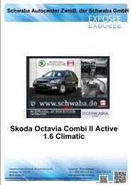 Skoda Octavia Combi II Active 1.6 Climatic - Schwaba GmbH