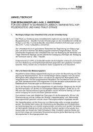 Begründung Umweltbericht - Stadt Schwabach