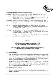 2. änderung des bebauungsplans l-8-66 mit ... - Stadt Schwabach