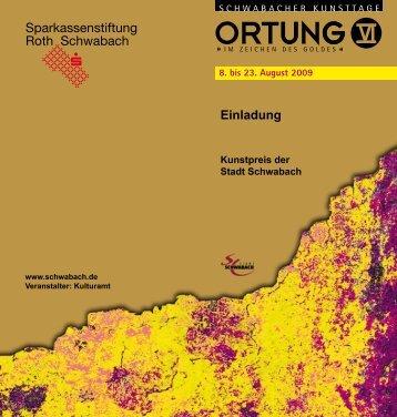 Einladung - Stadt Schwabach