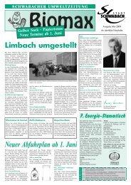 Ausgabe Mai 2004 - Stadt Schwabach