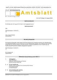 Nummer 34 vom 23. August 2013 - Stadt Schwabach