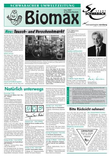 Ausgabe Mai 2007 - Stadt Schwabach