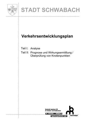 Analyse Teil II - Stadt Schwabach