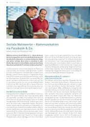 Soziale Netzwerke Kommunikation via Facebook und Co. - Schwabe