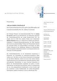 Betreff-Zeile: Times New Roman, 13pt - Schwabe