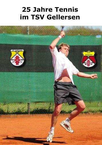 04131-709334 Wir wünschen dem Tennisverein zum Jubiläum alles ...