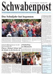 Das Schuljahr hat begonnen - Demokratisches Forum der Deutschen