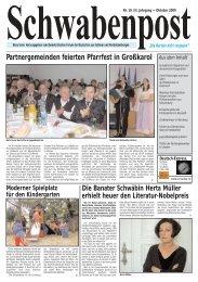 Partnergemeinden feierten Pfarrfest in Großkarol - Demokratisches ...