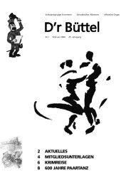 D'r Büttel - Schwaben-Kultur