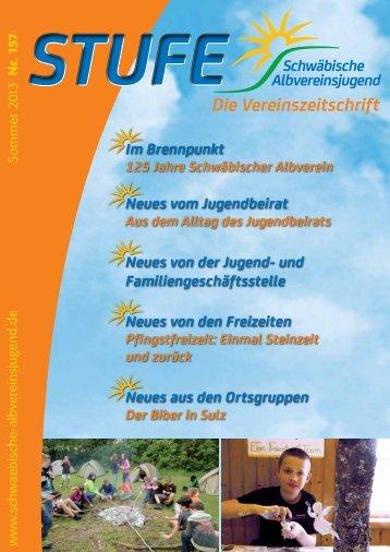 Download als pdf (4.9 MB) - Schwäbische Albvereinsjugend