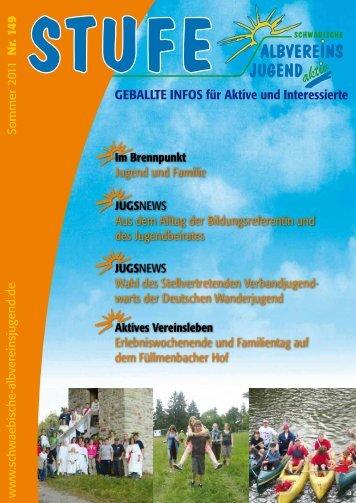 Download als pdf (4.5 MB) - Schwäbische Albvereinsjugend