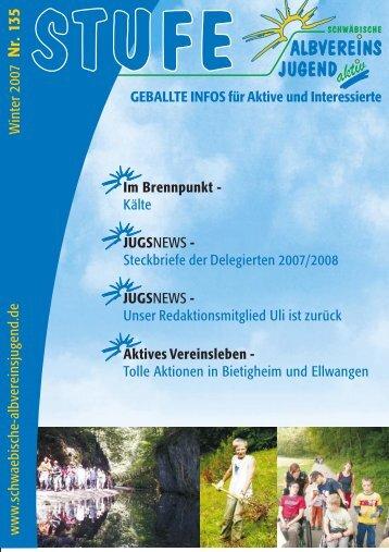 Download als pdf (2,8 MB) - Schwäbische Albvereinsjugend