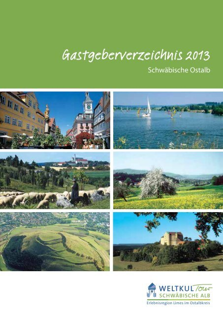 Gastgeberverzeichnis 2013 (pdf, 2,9 MB) - Stadt Aalen