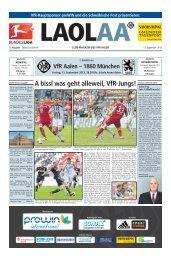 VfR-LAOLAA 3te Ausgabe Saison 2013-2014 - Schwäbische Post