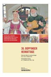 36. Bopfinger Heimattage 2013 (4,85 MB) - Schwäbische Post