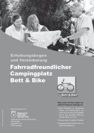 Erhebungsbogen Fahrradfreundlicher ... - Schwäbische Alb