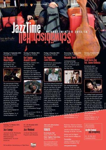 JazzTIME A4 - Stadt Schwäbisch Hall