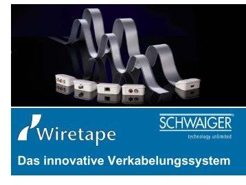 Das innovative Verkabelungssystem - Schwaiger