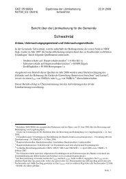 Anhang 1 zum Lärmaktionsplan der Gemeinde Schwalmtal