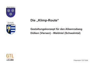 KlimpRoute Text.pdf - Gemeinde Schwalmtal