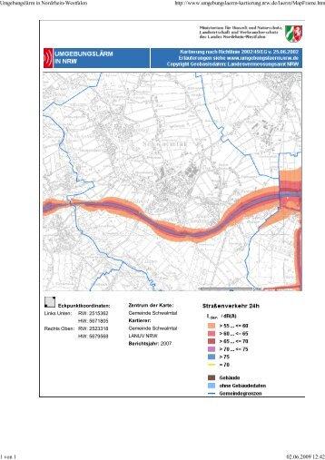 Anhang 2 zum Lärmaktionsplan der Gemeinde Schwalmtal