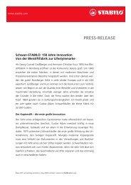 PRESS-RELEASE - Schwan Stabilo