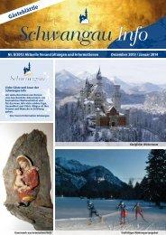 Gästeblättle Dezember 2013 / Januar 2014 (PDF ... - Schwangau
