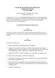 Satzung für die Erhebung der Hundesteuer ... - Schwangau