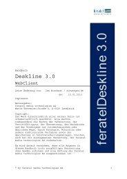 Deskline 3.0 - Schwangau
