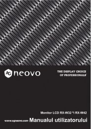 2 - AG Neovo Service Website