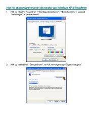 Hoe het stuurprogramma van de monitor van Windows XP te ...