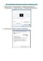 Jak zainstalować sterownik monitora w Windows Vista - AG Neovo ...