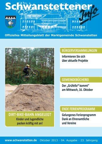 INFO Oktober 2013 - Gemeinde Schwanstetten