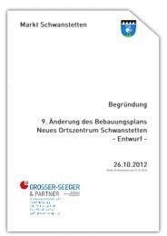 Begründung - Gemeinde Schwanstetten