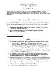 Örtliche Bauvorschrift über Gestaltung gem. § 84 NBauO im Ortsteil ...