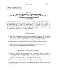 Satzung über die Verleihung des ... - Schwarzenberg