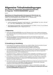 Teilnahmebedingungen 2013 - Schwarzerden