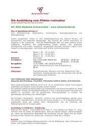 Pilates 2012 - Schwarzerden