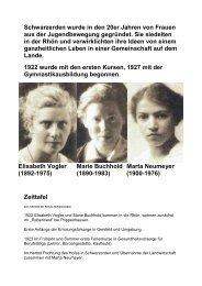 Zeittafel der Schulgeschichte - Schwarzerden