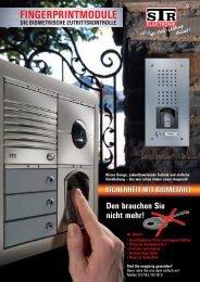 FINGERPRINTMODULE - STR-Elektronik