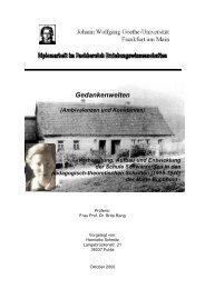 Gedankenwelten - Diplom 2000 - Schwarzerden