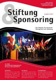 Das Magazin für Nonprofit-Management und -Marketing