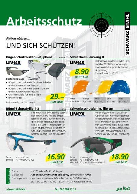 Arbeitsschutz - Schwarz Stahl AG
