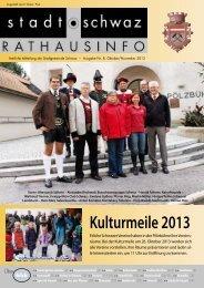 PDF Rathausinfo Nr. 08/2013 - Schwaz