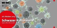Schwazer Kulturmeile 2013
