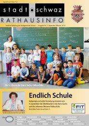 PDF Rathausinfo Nr. 07/2013 - Schwaz