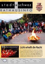 PDF Rathausinfo Nr. 09/2013 - Schwaz